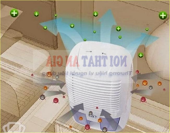 Máy hút ẩm không khí giúp cân bằng độ ẩm