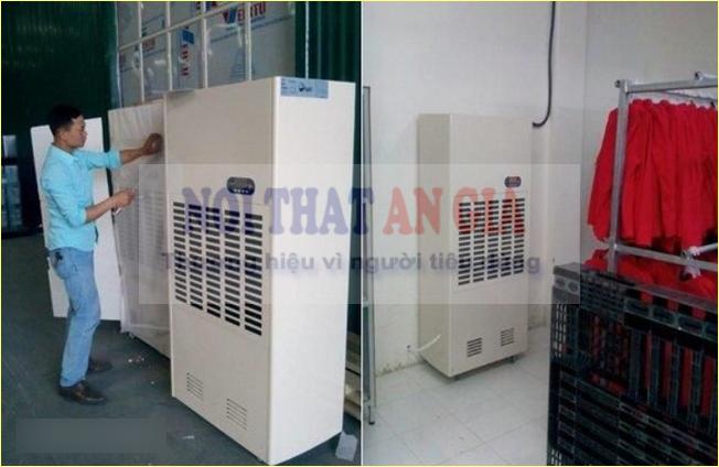 Máy hút ẩm công nghiệp hoạt động theo nguyên lý nào?