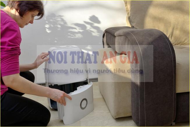 Sử dụng máy hút ẩm sao cho đúng?