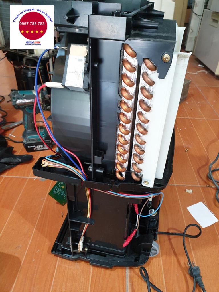 Hệ thống máy dàn bên trong máy