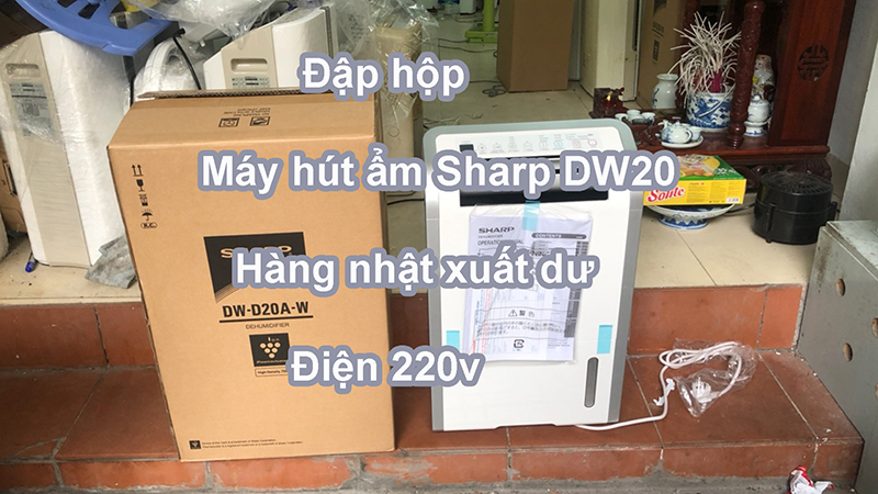 Máy hút ẩm Sharp DW-D20A